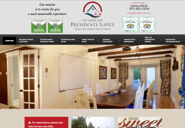 Presidents Suites Lodging